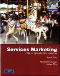 Services marketing : people, technology, strategy 7th ed.