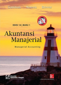 Image of Akuntansi manajerial = managerial accounting buku 1 ed. 14