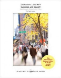 Image of Business and society : stakeholders, ethics, public policy 14th ed.
