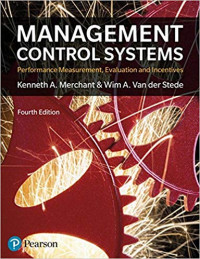 Image of Management control systems: performance measurement, evaluation and incentives, 4th ed.